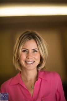 Karen Saravia, the jeweler's director of human resources for Latin America. Photos by Carlos Miller