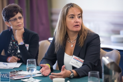 Olga Martinez, group head of human resources for Latin America and the Caribbean for MasterCard Worldwide.