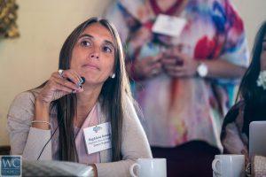 Magdalena Ramada Sarasola, economist at Towers Watson. Photos by Carlos Miller