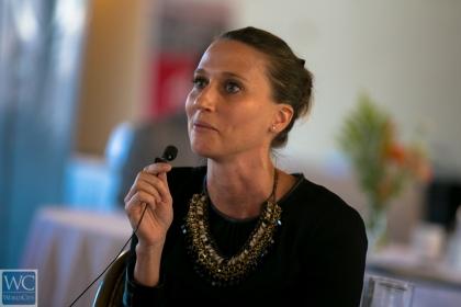 Fiona Humphrey, HR director in Miami for NBC Universal.