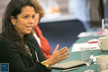 Isabel Montes, HR manager for Latin America for Starbucks Coffee Company.