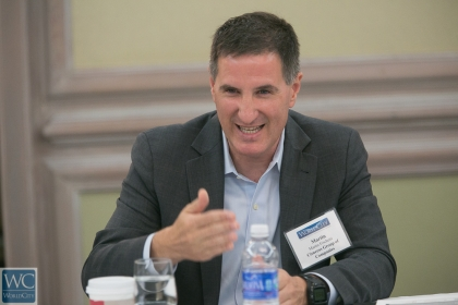 Martin Fischetti of Miami-based Cisneros Group of Companies