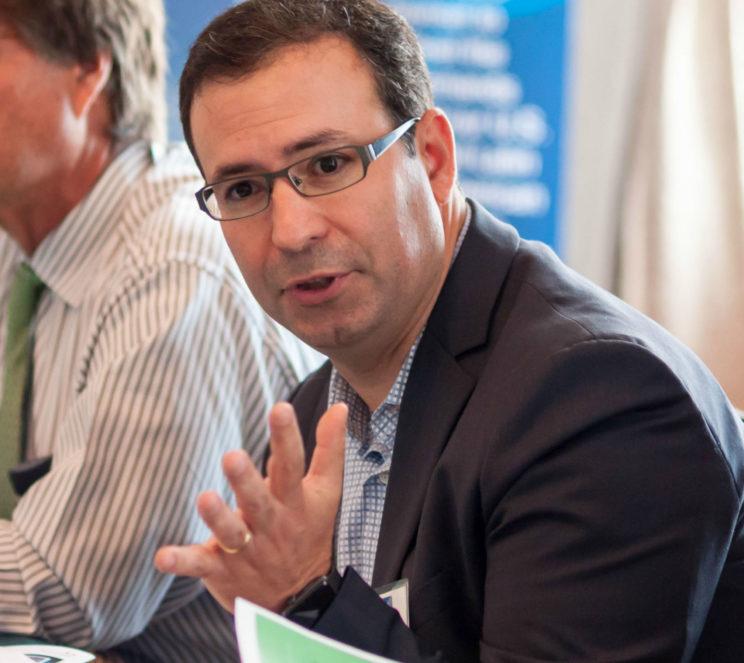 Alejandro Marmorek of AON Risk Management, Latam leading the CEO Club session