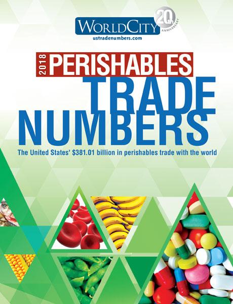 TradeNumbers 2018 Perishables